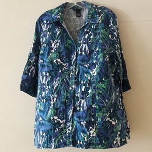 Maggie Barnes button down shirt